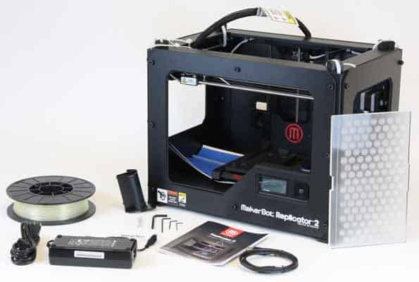 replicator 2 3d printer