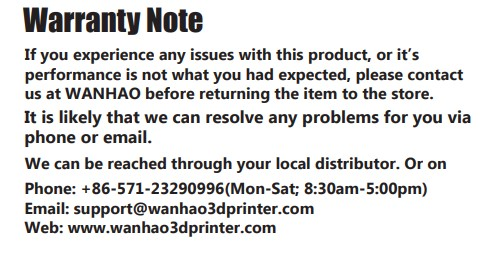 wanhao 3d printer review