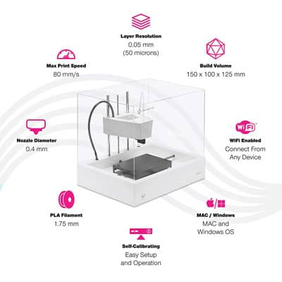 easy to use 3d printer