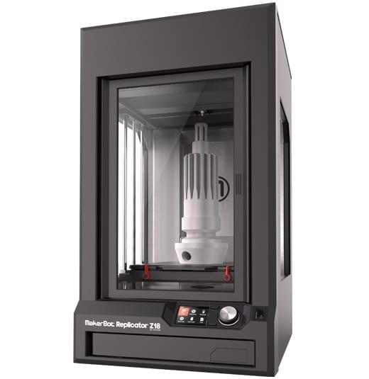 Maker Bot Z18 Replicator 3d Printer 5th Generation