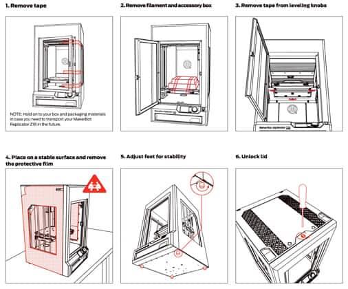 Makerbot Replicator Z18 Manual